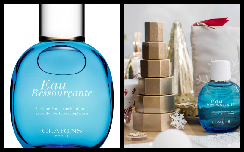 CLARINS藍色寧靜水100ml/1,500元(圖/品牌提供)