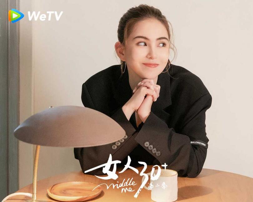 昆凌直言天王嫂不只是幸運。(圖/WeTV提供)