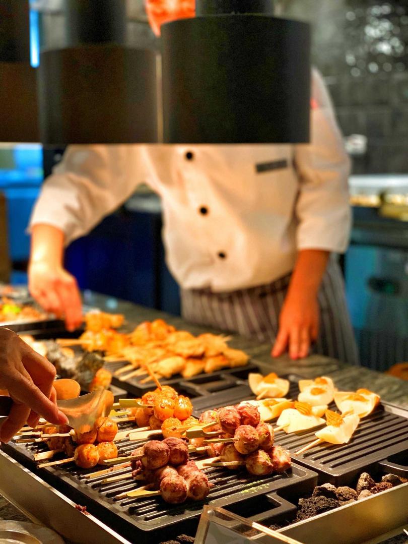 強調吃食物不要吃食品添加物,輔以鮮活蔬果及多國料理手法,讓Buffet也能吃得美味又健康。(圖片提供/饗賓餐旅事業)