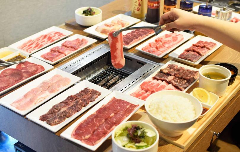 「燒肉日」優惠大放送,讓你體驗夏日美味燒肉饗宴。(圖片提供/燒肉LIKE)