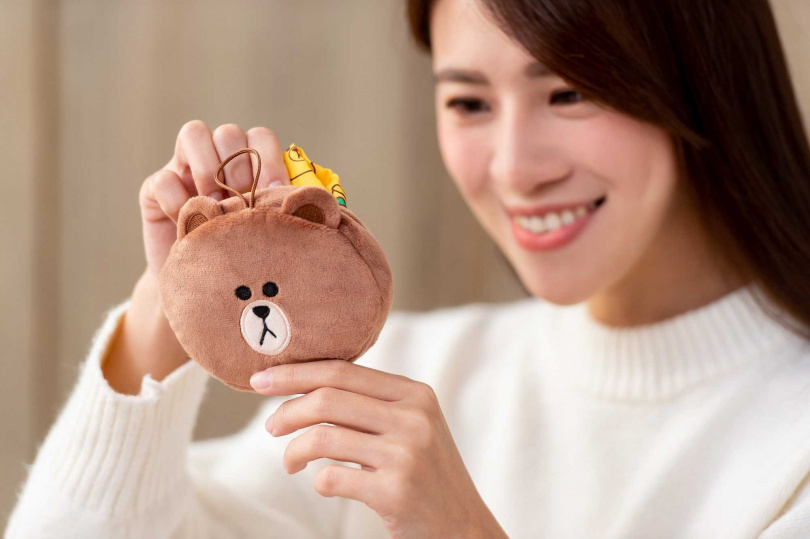 圖為「熊大摺疊手提袋」。