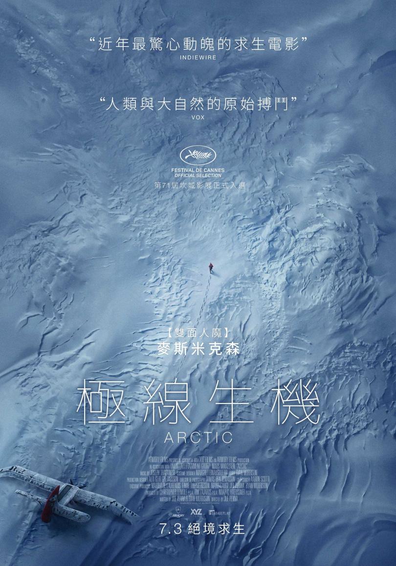 《極線生機》電影海報(圖/車庫娛樂提供)
