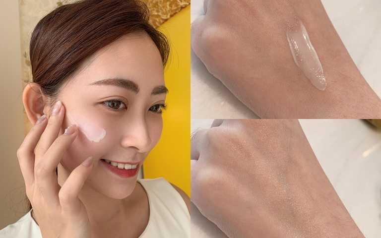 質地綿密柔滑好吸收,絕對不黏膩,擦在臉部OK,即使是細緻的眼周也不怕會長肉芽。(圖/吳雅鈴攝影)
