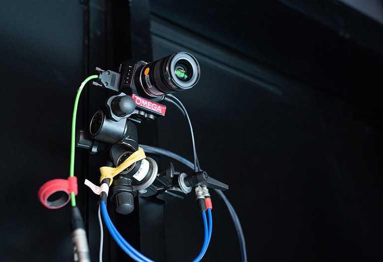 OMEGA圖像追蹤攝影機。(圖╱OMEGA提供)