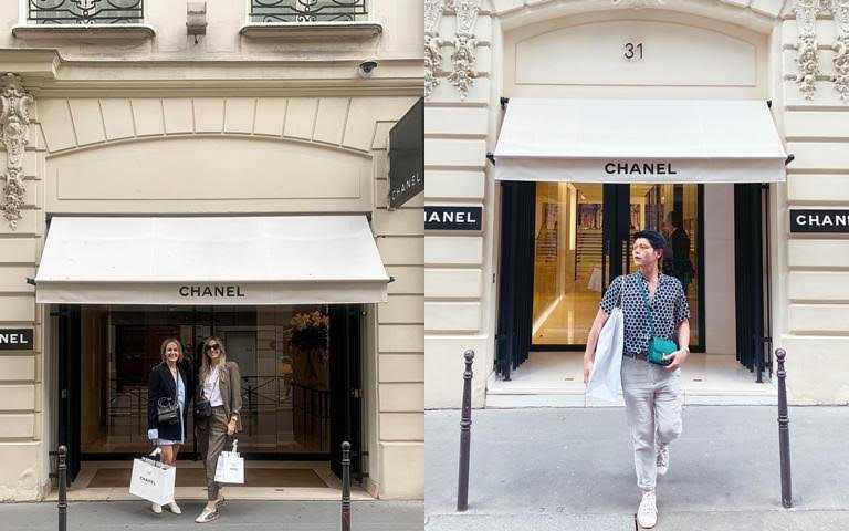 時尚迷朝聖巴黎必去的景點之一就是小香的康朋街31號精品店!(圖/IG@eddyvoyage365、IG@lizzy_vanhouwelingen)