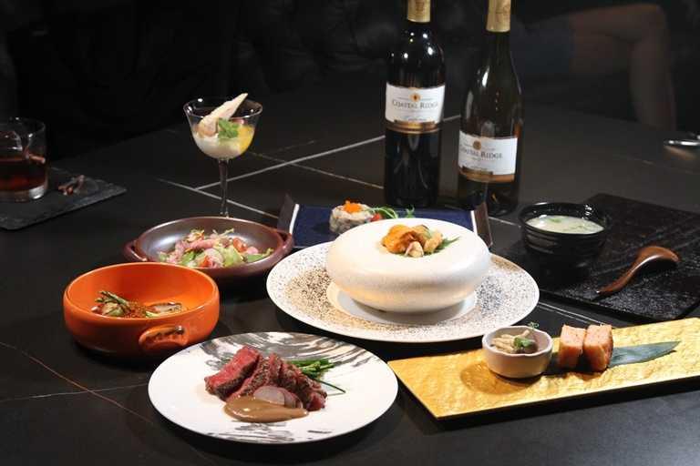 「鷹house BISTRO」可單點也有提供套餐,圖為預約制的2,880元套餐。