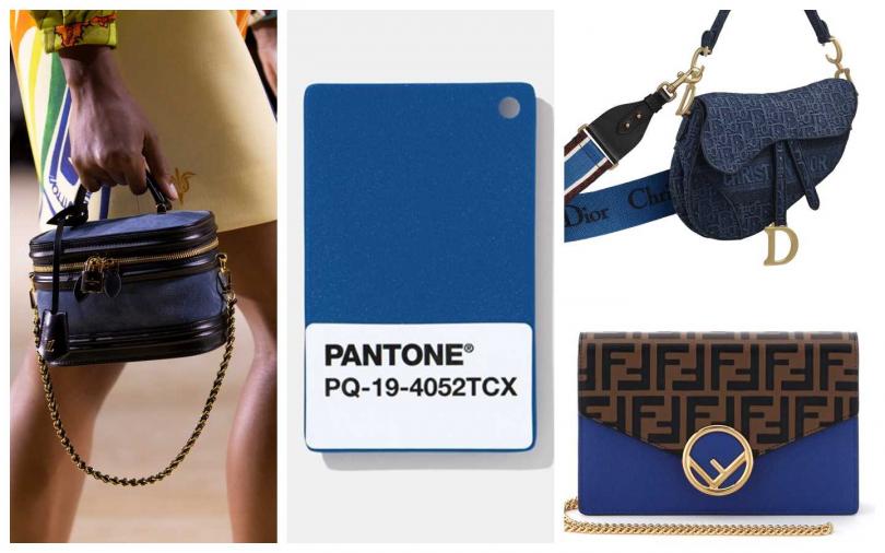 左1:LOUIS VUITTON、右上:Dior Saddle Oblique 丹寧斜紋刺繡帆布馬鞍包(藍色刺繡寬背帶另購)/120,000元。右下:Fendi包款。(圖/品牌提供)
