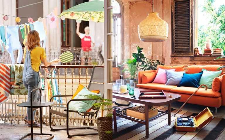 IKEA推出SOLBLEKT限量系列,利用簡單單品就能在家布置出異國度假風!(圖/IKEA)