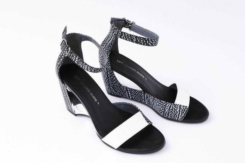 UNITED NUDE高跟鞋/9,000元(圖/戴世平攝)