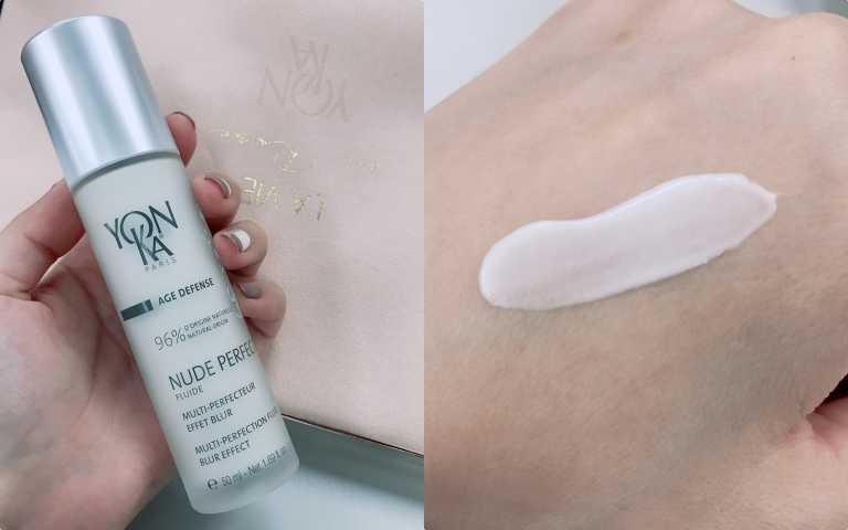 法國雍卡YONKA推出完美瓷肌乳50ml/2,300元(圖/黃筱婷攝影)