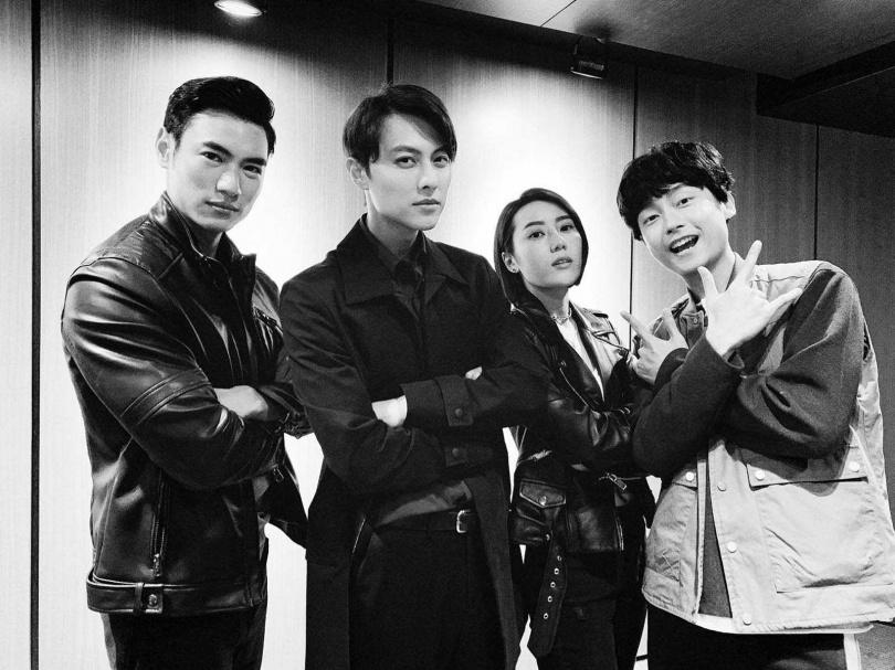去年陸羿參與了第一部電視劇《覆活》,在其中飾演酷帥保安。(翻攝自陸羿臉書)