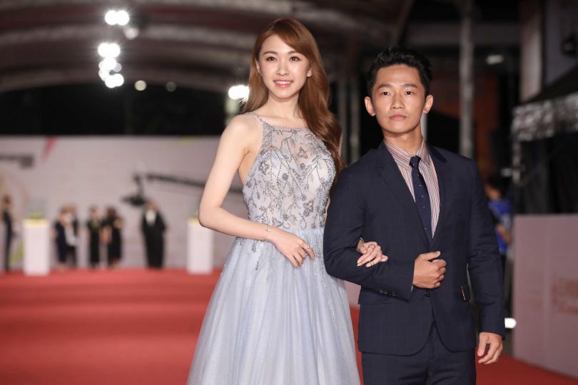 蔡昌憲、林玟誼以《苦力》入圍金鐘55最佳男、女主角。(圖/攝影組)