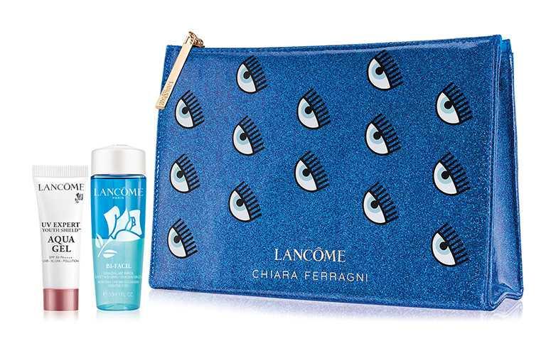 凡購買眨眼藍潮系列彩妝任2件,即贈「眨眼3件組」。(圖/LANCOME提供)