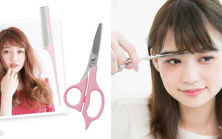 修剪的工具也很重要,最好還是備有專業美髮剪刀。(圖/翻攝網路)