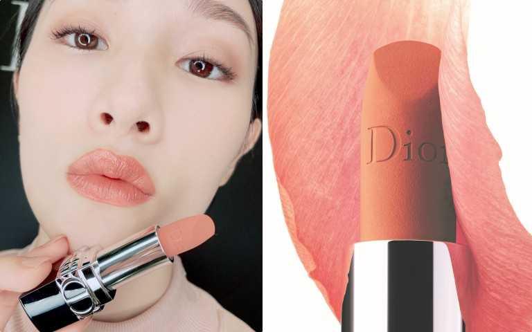 Dior 迪奧藍星精華唇膏#200 3.5g /1,300元(圖/黃筱婷攝影)