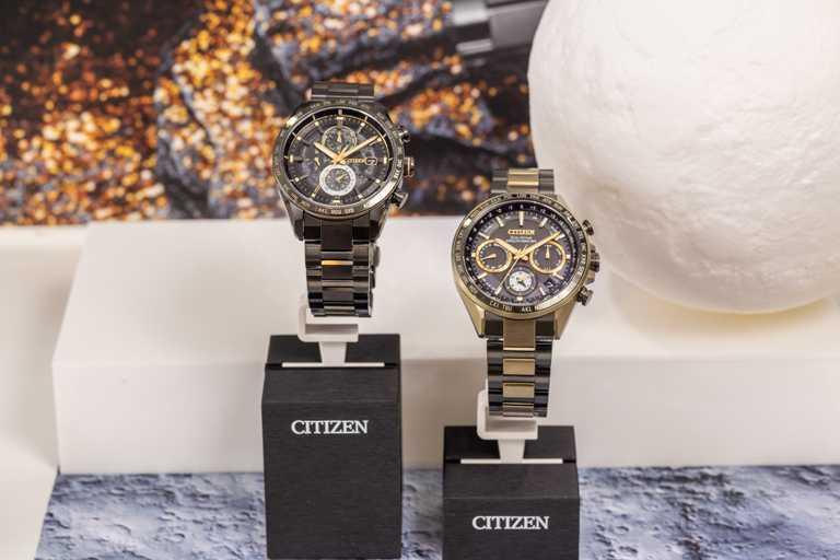 CITIZEN憑藉超級鈦製錶材質,參與「HAKUTO-R」世界首次商業月球探測計畫,發表全新「光動能GPS衛星對時」腕錶聯名限定款。(圖╱CITIZEN提供)