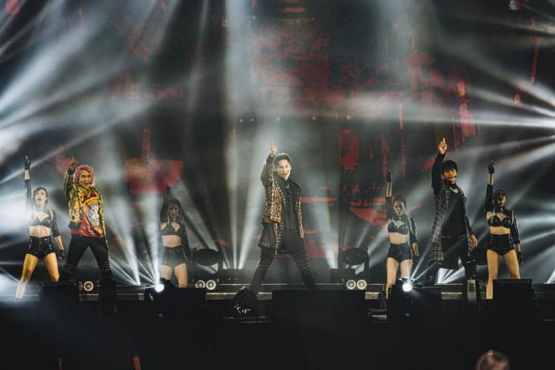睽違16年,5566獅城開唱座無虛席。(圖/華貴娛樂提供)