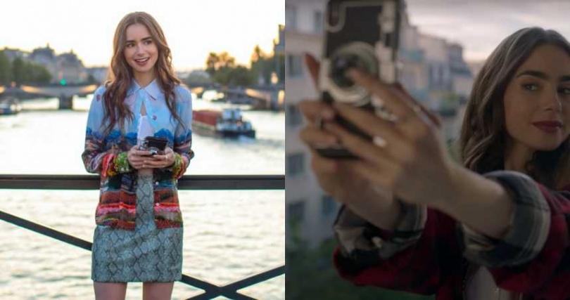 品牌Awsaccy相機套手機殼,在劇中超搶戲!(圖/IG、NETFLIX)
