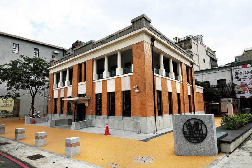 興建於1921年的「三和銀行」,歷經銀行、新濱派出所等變化後,重新以咖啡館和世人見面。