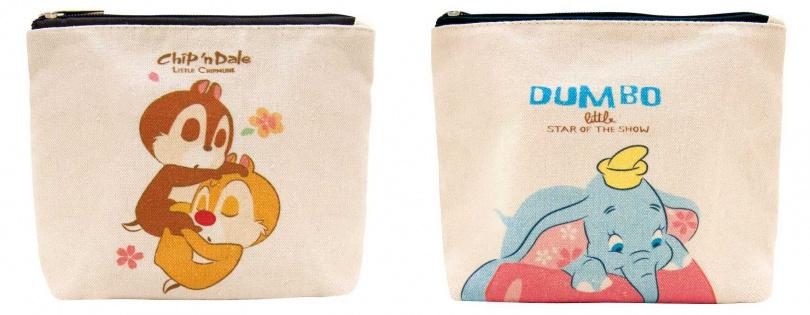 同場加映!如果是在全聯購買限定販售的2款迪士尼系列多芬洗髮限定組合,禮物則是超萌超實用的化妝包喔。(圖/品牌提供)