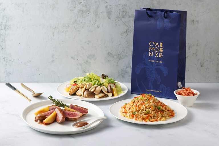 「夏慕尼」除了有超高CP值的「櫻花蝦炒飯」外,外脆內嫩的「法式嫩煎鴨胸」也是必點。