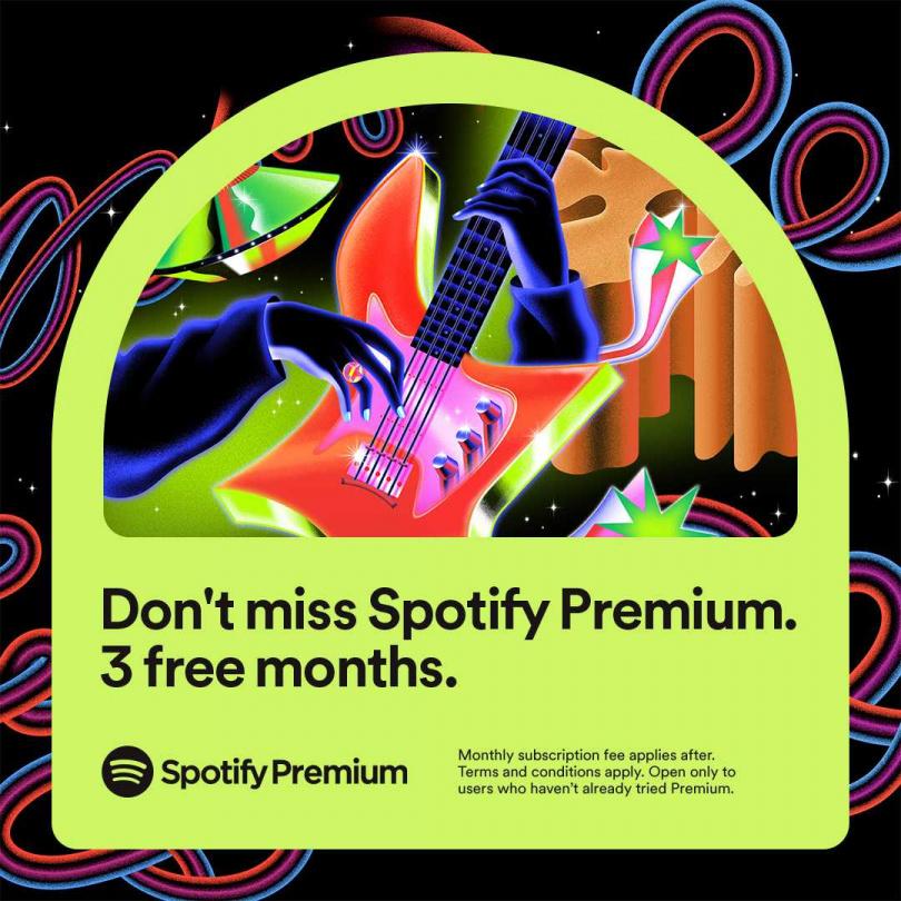 Spotify Premium 符合資格的舊用戶也可獲得三個月只要新台幣 149 元的優惠