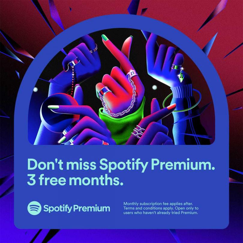 Spotify Premium 為免費用戶及首次使用的用戶推出全新優惠