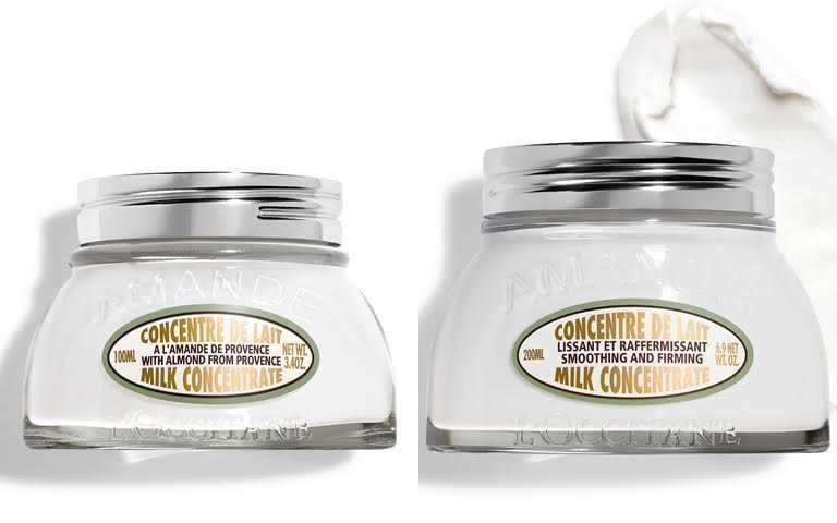 歐舒丹杏仁緊膚凝霜100ml/1,500元、200ml/2,280元除了200ml的正常容量之外,這次還有出100ml的限量瓶,很推薦新客買來試用看看。(圖/品牌提供)