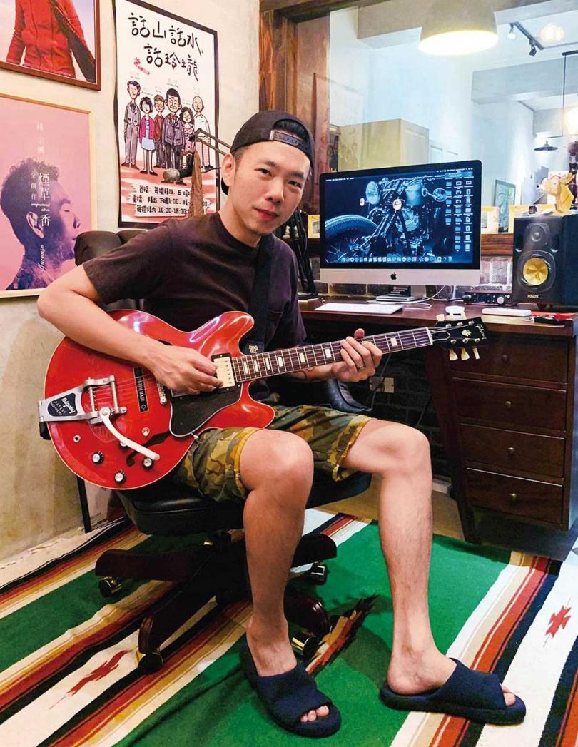 林宗興趁勢推出線上歌唱教學,讓愛唱歌的朋友可以在家輕鬆上課。(圖/林宗興提供)