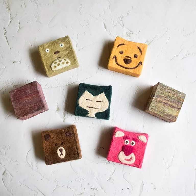 手工皂店「LIKE DO」推出「在家DIY手作羊毛氈織手工皂與液態皂」課程。