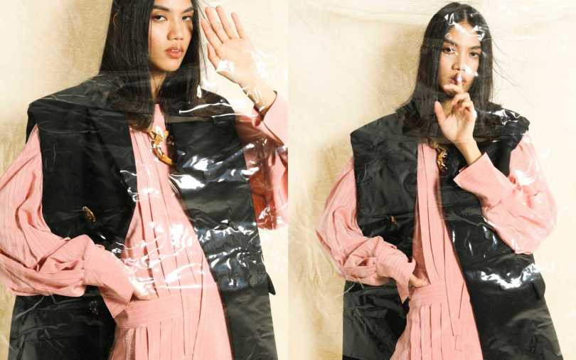Chloé Dress 洋裝/價格未定;MIU MIU Coat 外套/價格未定、Necklace 項鍊/價格未定(攝影/戴世平)
