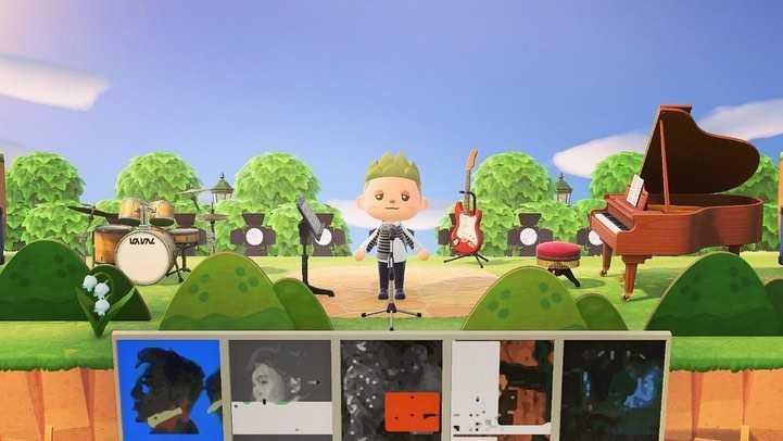 黃偉晉自辦模擬簽唱會,並在直播中清唱一段〈背光旅行〉。(圖/愛貝克思提供)