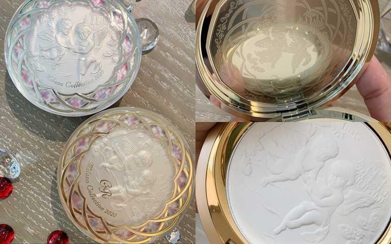 有看過這麼美的身體粉嗎XD,就算是裡面的粉全部用完了,擺在梳妝檯都是好漂亮的裝飾啊。(圖/吳雅鈴攝影)