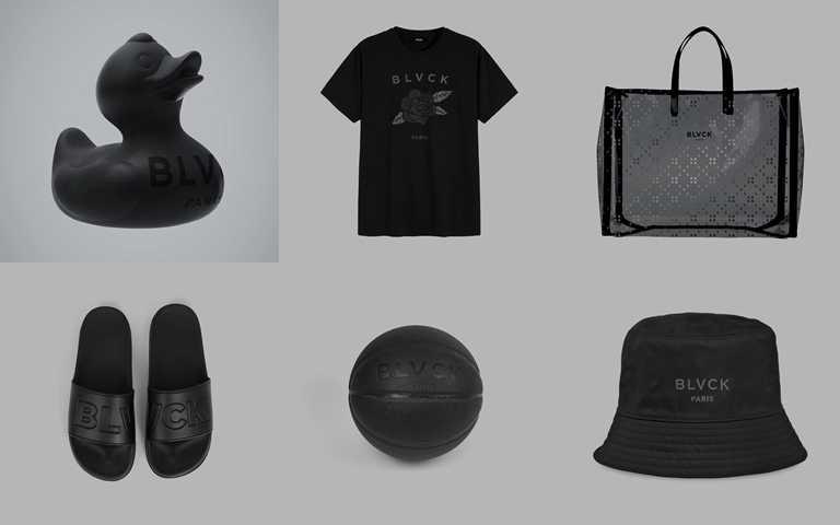 從服飾到生活小物用品都能看見闇黑時尚特有魅力!(圖/BLVCK)