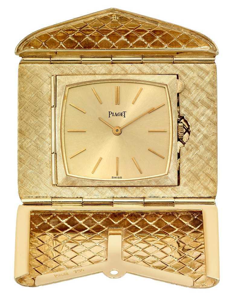 PIAGET伯爵1967年作品,為一款搭載「9P手動上鍊機芯」的信函錶。(圖╱PIAGET提供)