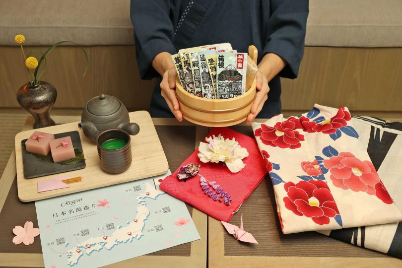 「春日風呂」日本名湯巡禮專案。(圖/晶華酒店提供)
