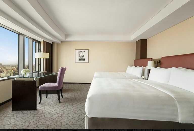 飯店同步推出「清涼一夏」住房專案,平均一人只要897元便可入住。