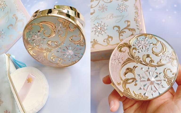 Snow Beauty雪花香氛魔法盒2021巴黎初雪限定/1,900元將巴黎雪景結合洛可可風格的設計,優雅又華麗。(圖/吳雅鈴攝影)
