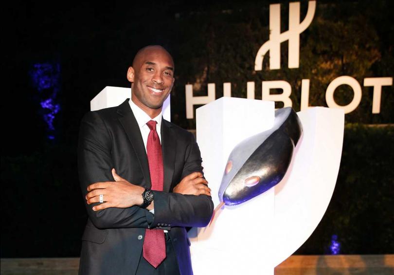 願HUBLOT全球品牌大使Kobe Bryant的運動精神,永存世人心中。(圖片提供╱HUBLOT)