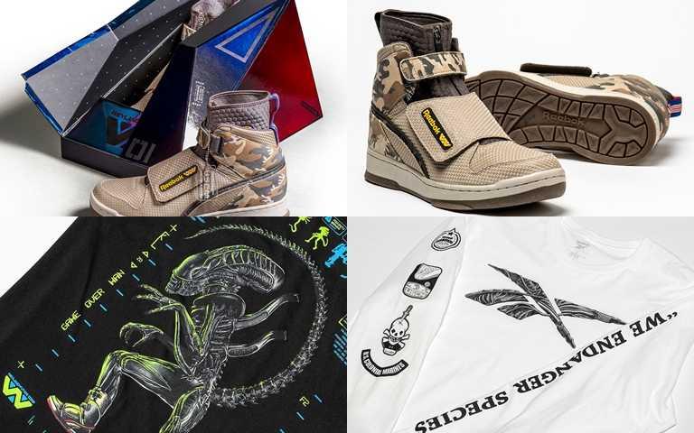 """系列鞋款與服飾將於4月26日""""Alien Day""""在信義遠東A13 Reebok經典門市全台正式獨家發售。(圖/Reebok)"""