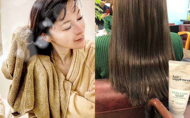 想要養出好髮質,就不能亂選清潔髮品。(圖/IG@_i_am_dinah_、IG@ryo.yokoyama)
