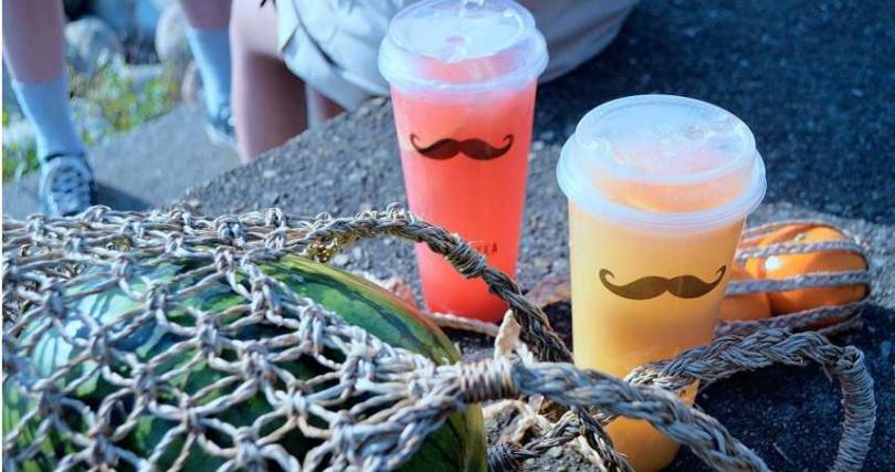 新推兩款西瓜及一款芒果的夏日消暑飲品。(圖/鬍子茶Who's Tea)