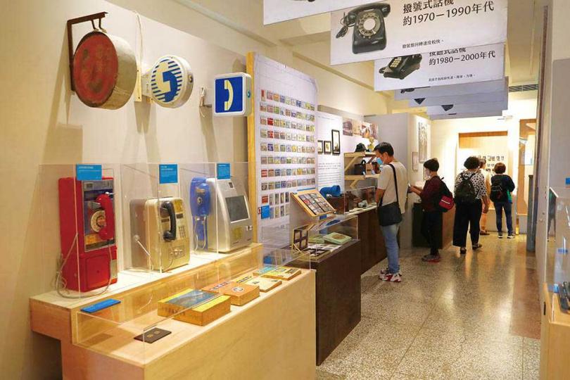 「迪化二○七博物館」每半年都會調整一次展覽內容。(圖/于魯光攝)