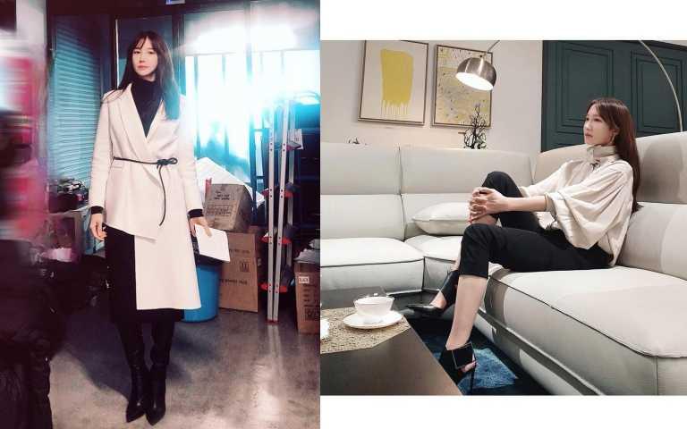 氣質時尚的穿衣打扮,讓李智雅成為新一代時尚穿搭女神(圖/翻攝自IG)
