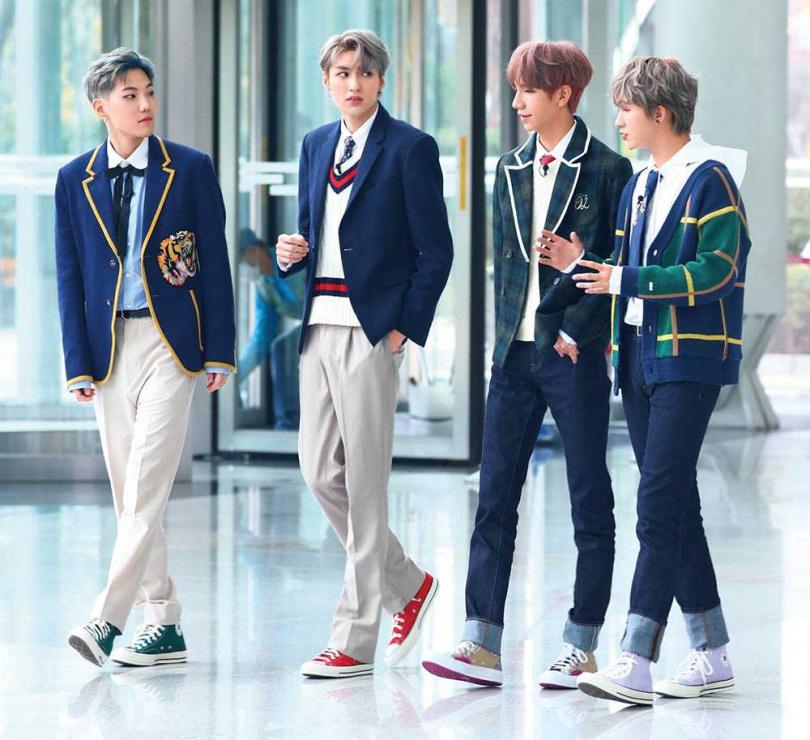 將推出韓文單曲的C.T.O,新年最大願望是早點和另2位團員合體。(圖/創造力娛樂提供)