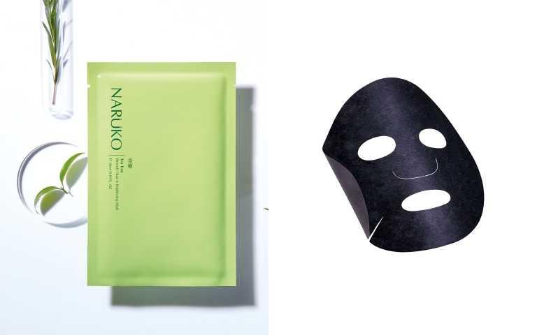 NARUKO茶樹神奇美白黑面膜26mlx5片 NT299(圖/品牌提供、擷取自kaikai.0603網站)