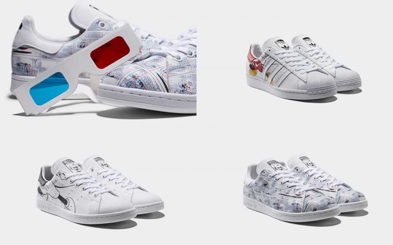 adidas Originals農曆新年米老鼠系列商品於1月18日(六)起陸續上市。(圖/adidas Originals)
