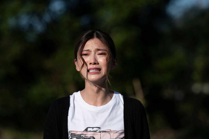 蔡黃汝戲裡從頭哭到尾,對自己是很大的挑戰。(圖/麗象影業提供)