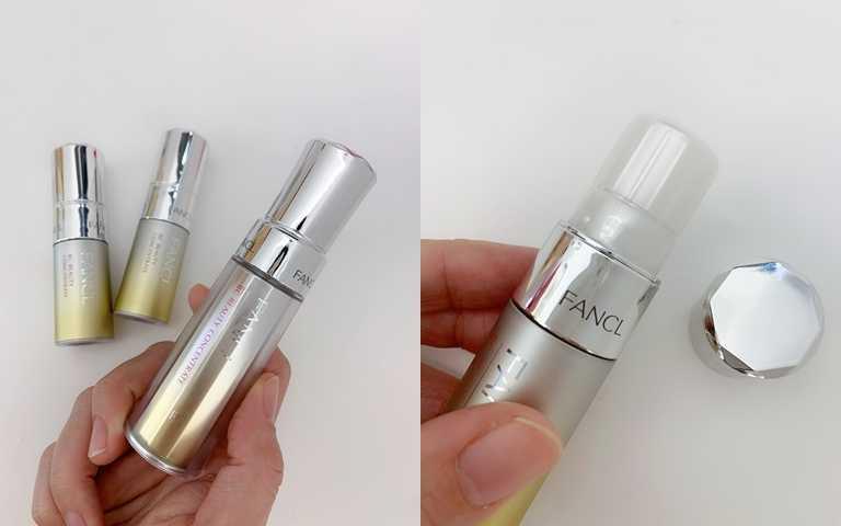 別小看9ml的小瓶裝設計,不但一樣保有扭轉式的最保鮮開蓋法,其實2瓶9ml加起來就等於是一瓶正貨的容量,很划算。(圖/吳雅鈴攝影)