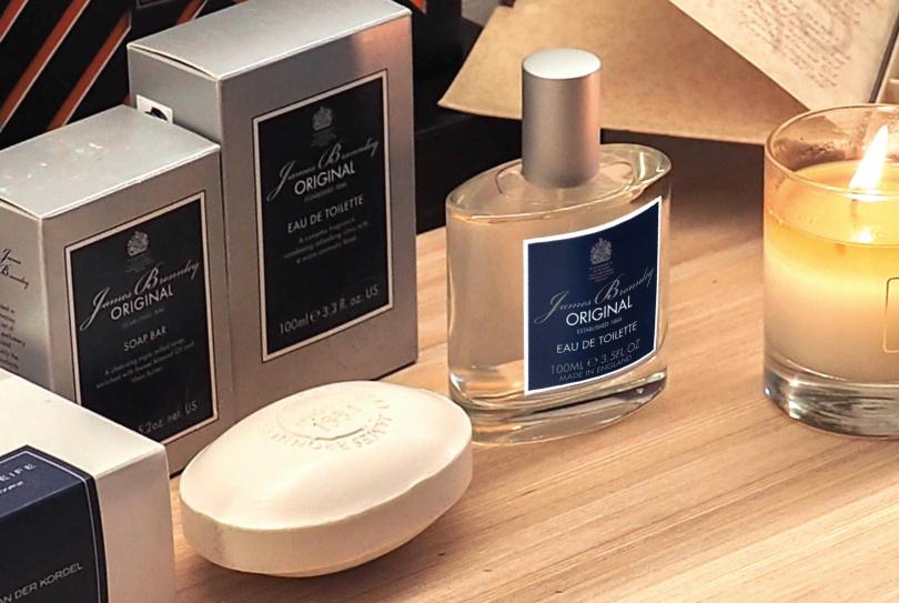 第二款「英倫紳士香氛組」為海洋男士香水+海洋男士保濕清潔皂,售價2,888元。(圖/品牌提供)